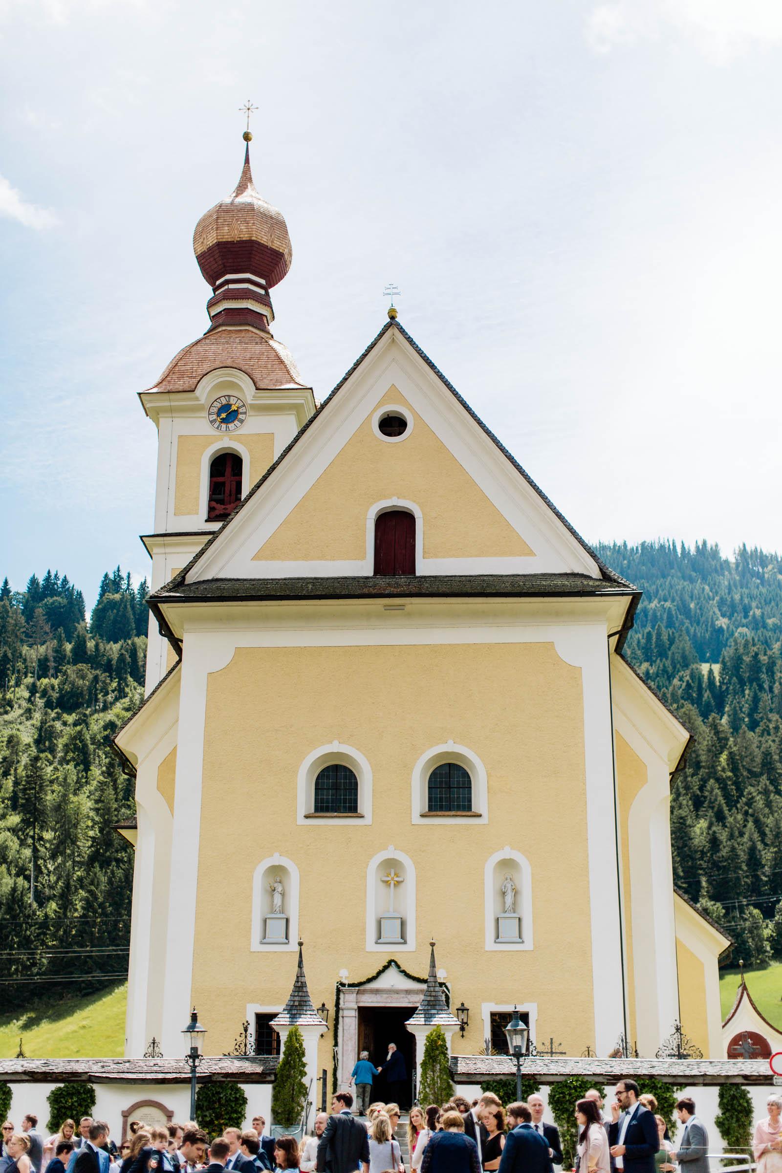 Kirche going wilder kaiser