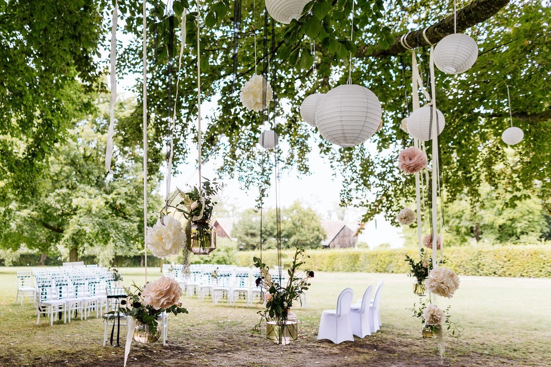 Hochzeit in Schloss Aufhausen