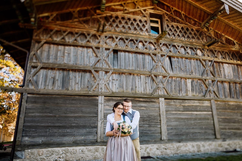 Brautpaarfotos Tracht